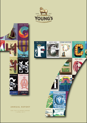 Young & Co's Brewery annual report 2017
