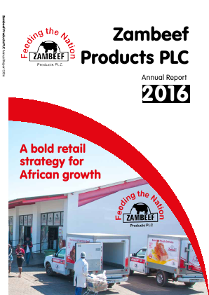 Zambeef Products annual report 2016