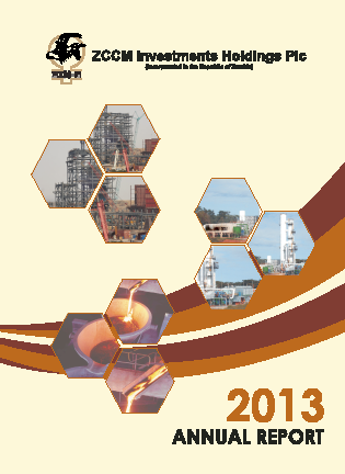ZCCM Investments Holdings annual report 2013