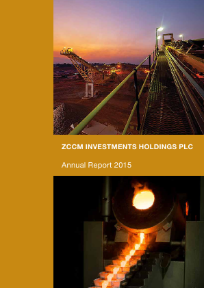 ZCCM Investments Holdings annual report 2015