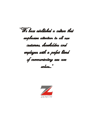 Zenith Bank annual report 2006