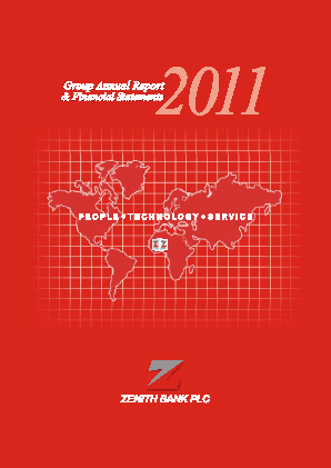Zenith Bank annual report 2011