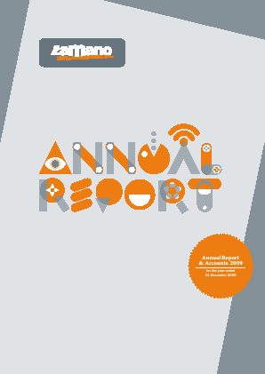Zamano Plc annual report 2009