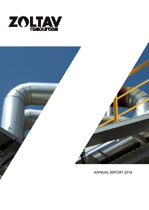 Zoltav Resources Inc annual report 2016