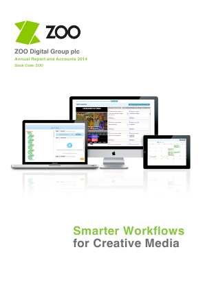 Zoo Digital Group Plc annual report 2014