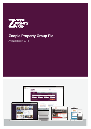 ZPG Group (Previously Zoopla Property Group) annual report 2014