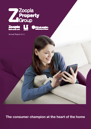 ZPG Group (Previously Zoopla Property Group) annual report 2015