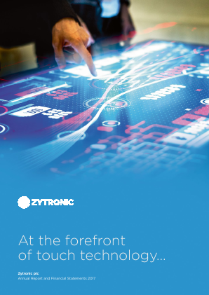Zytronic annual report 2017